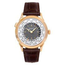 Patek Philippe World Time Rose gold 38mm Grey No numerals United States of America, Florida, Surfside