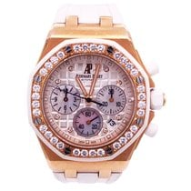 Audemars Piguet Royal Oak Offshore Lady Roségold 37mm Gold Keine Ziffern