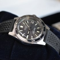 Seiko Marinemaster Сталь Черный