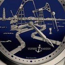 Ulysse Nardin Hourstriker Platine 43mm Bleu
