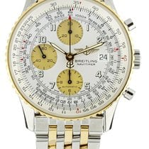 Breitling Old Navitimer Gold/Steel 42mm White United States of America, Illinois, BUFFALO GROVE