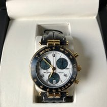 Michel Herbelin Newport (submodel) pre-owned 40mm White Chronograph Date Leather