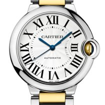 Cartier Ballon Bleu 36mm Gold/Steel 36mm Silver Roman numerals United States of America, Georgia, Alpharetta