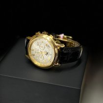 Zenith Yellow gold Automatic Silver Roman numerals 40mm pre-owned
