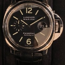 Panerai Luminor Marina Automatic Acciaio 44mm Nero Arabi