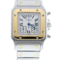 Cartier Santos Galbée Gold/Steel 29mm White Roman numerals United States of America, New York, New York