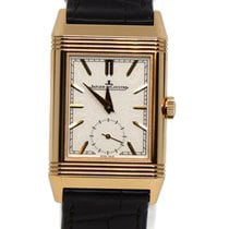 Jaeger-LeCoultre Reverso Duoface Rose gold 42.9mm Silver No numerals United States of America, New York, New York
