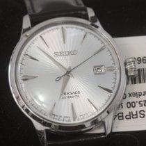Seiko Presage Steel 40.5mm Silver No numerals United States of America, Louisiana, New Orleans