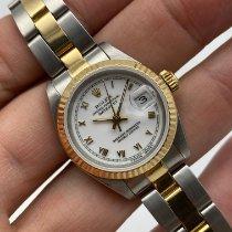Rolex Lady-Datejust Oro/Acciaio 26mm Bianco Senza numeri Italia, ROMA