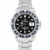 Rolex 16710 Steel GMT-Master II 40mm pre-owned United States of America, New York, Massapequa Park