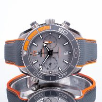 Omega Titane Remontage automatique Gris 45.5mm occasion Seamaster Planet Ocean Chronograph