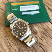 Rolex Steel 39mm Black Arabic numerals