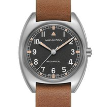 Hamilton Khaki Pilot Pioneer Steel 36mm Black United States of America, Michigan, Toronto