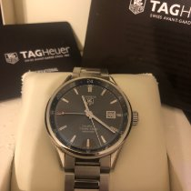 TAG Heuer Carrera Calibre 7 Steel 41mm Black No numerals United States of America, Pennsylvania, Whitehall