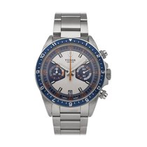 Tudor Heritage Chrono Blue Steel 42mm Silver No numerals United States of America, Pennsylvania, Bala Cynwyd