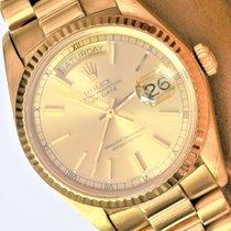 Rolex Day-Date 36 Geelgoud 36mm Goud Geen cijfers Nederland, Bussum