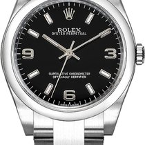 Rolex Oyster Perpetual 26 Steel 26mm Black Arabic numerals United States of America, California, Moorpark
