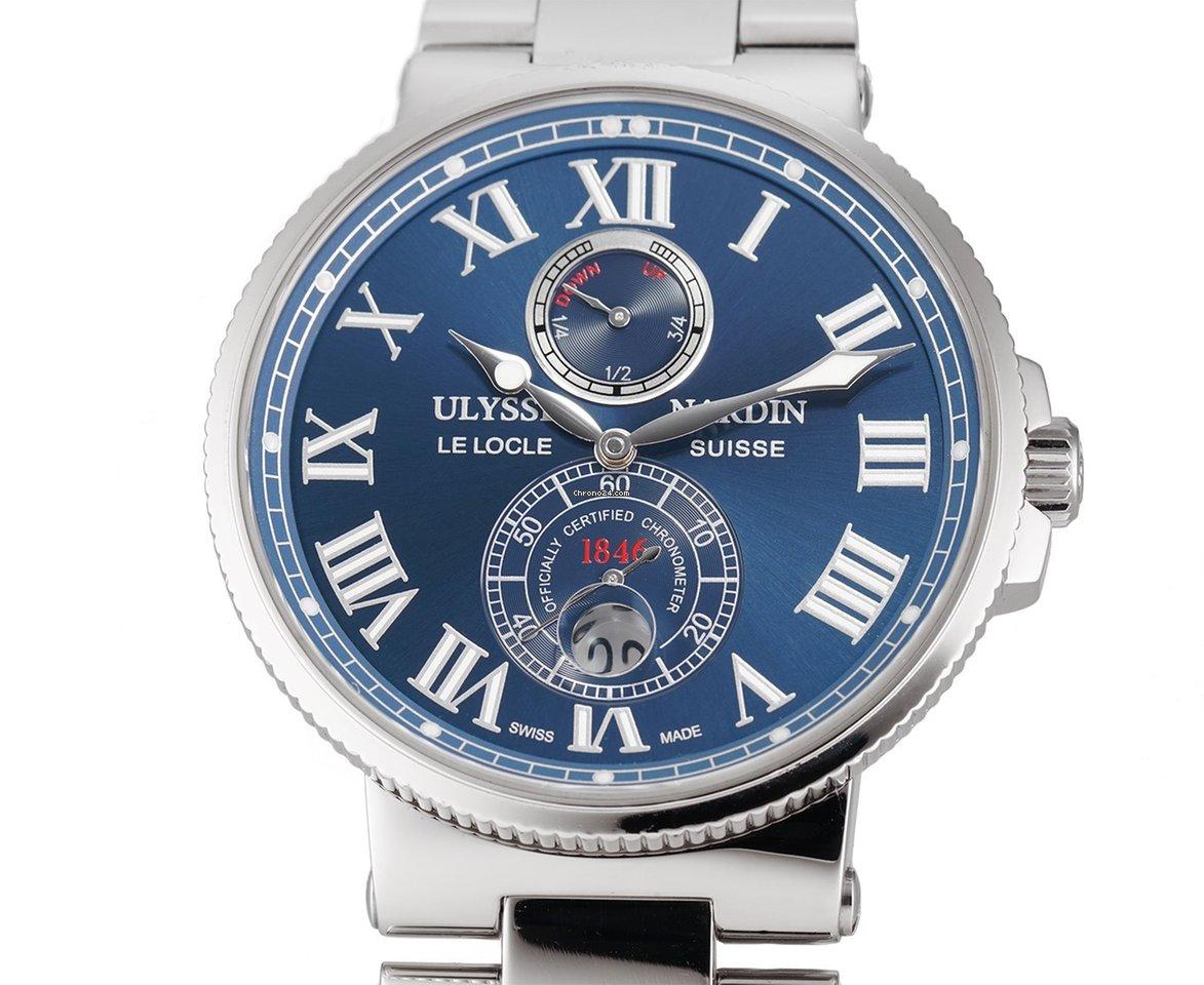 Ulysse Nardin Marine Chronometer 43mm 263-67-7/43 pre-owned