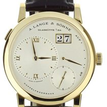 A. Lange & Söhne Lange 1 Yellow gold 38.5mm Silver United States of America, Illinois, BUFFALO GROVE