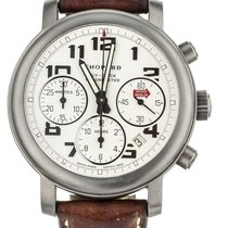 Chopard Titanium Automatic White 40mm Mille Miglia