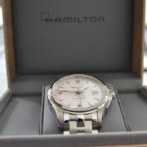 Hamilton Jazzmaster Viewmatic Otel 40mm Argint