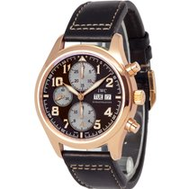 IWC Rose gold Automatic Brown 42mm new Pilot