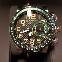 Graham Silverstone 2BLCH.B33A New Steel 46mm Automatic