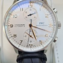 IWC Portuguese Chronograph Acero 41mm Plata Arábigos