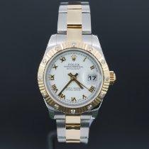 Rolex Lady-Datejust 179313 Très bon Or/Acier 26mm Remontage automatique