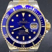 Rolex 16613 Or/Acier 1991 Submariner Date 40mm occasion