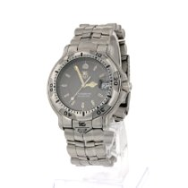 TAG Heuer 6000 Steel 38mm Grey No numerals