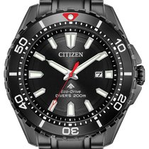 Citizen Promaster Marine Steel 45mm Black No numerals United States of America, New York, Bellmore