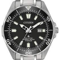 Citizen Titanium Black No numerals 44mm new Promaster