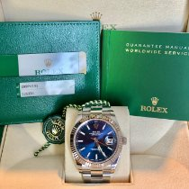 Rolex Datejust Steel 41mm Blue No numerals UAE, Dubai