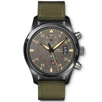 IWC Pilot Chronograph Top Gun Miramar IW388002 New Ceramic 46mm Automatic