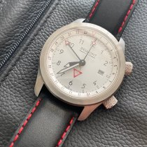 Bremont Steel Automatic Black 43mm pre-owned MB
