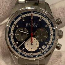 Zenith El Primero Original 1969 Steel 38mm Blue United States of America, North Carolina, Charlotte