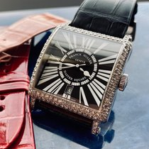 Franck Muller Master Square 6000 H SC DT Very good White gold Automatic UAE, Umm Al Quwain