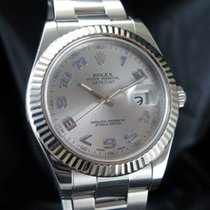 Rolex Datejust II Steel 41mm Silver No numerals