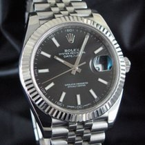 Rolex Datejust II Stål 41mm Sort