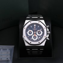 Audemars Piguet Royal Oak Chronograph Steel 39mm Blue No numerals United States of America, California, Beverly Hills