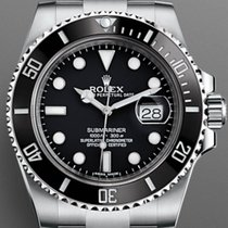 Rolex Submariner Date Steel 40mm Black No numerals United States of America, New York, Brooklyn