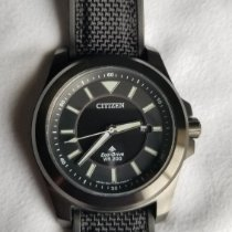 Citizen pre-owned Quartz 42mm Black Sapphire crystal 20 ATM