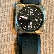 Bell & Ross BR 03-94 Chronographe pre-owned 42mm Black Chronograph Date Rubber