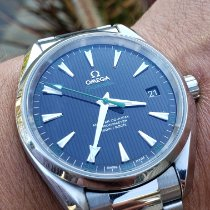 Omega Seamaster Aqua Terra Steel 41.5mm Black No numerals United States of America, Illinois, Plainfield