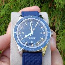 Omega Seamaster 300 Titanium 41mm Blue No numerals