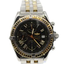 Breitling Crosswind Racing Gold/Steel 43mm Black Roman numerals United States of America, New Jersey, Upper Saddle River