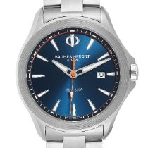 Baume & Mercier Clifton Steel 42mm Blue United States of America, Georgia, Atlanta