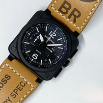 Bell & Ross BR 03-94 Chronographe Ceramic 42mm Black Arabic numerals