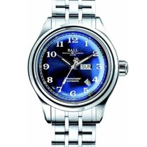 Ball Trainmaster Cleveland Express Steel 41mm Blue United States of America, New Jersey, River Edge